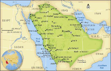 Prendete met dell arabia saudita per risolvere il for La capitale dell arabia saudita