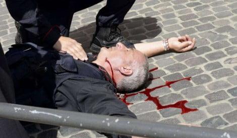 Il brigadiere Giuseppe Giangrande, 50 anni