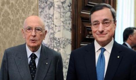 napolitano Draghi parole altissime e sagge
