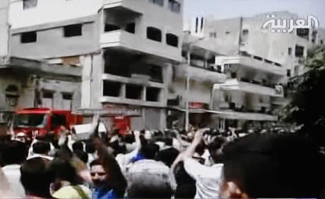 proteste siria