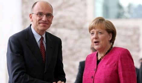 Letta-Merkel2