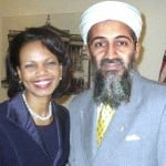 Osama bin Laden e Condoleeza Rice