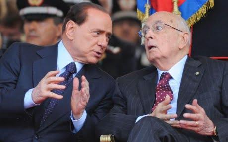 Berlusconi-Napolitano