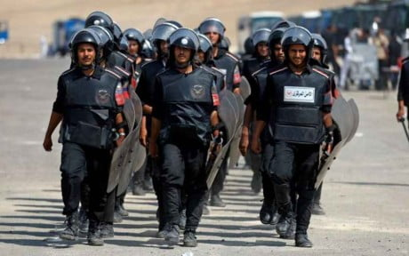 Egitto-Polizia