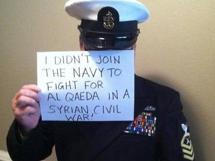 """Siria: protesta militari Usa, """"non combattiamo per Al Qaida"""""""