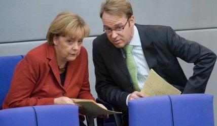 Merkel, Weidmann, Bundestag