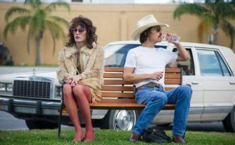 """Jared Leto e Matthew McConaughey in una scena del film """"Dallas Buyers Club"""""""