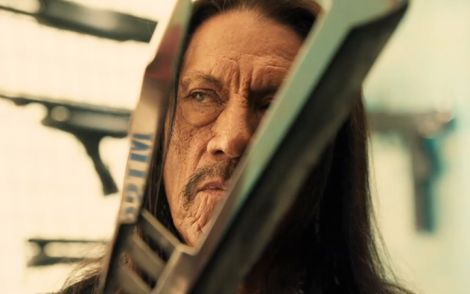 "Danny Trejo in una scena del film ""Machete Kills"""