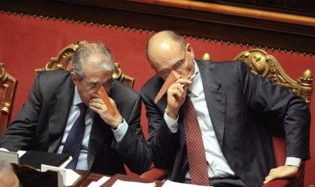 Il presidente del Consiglio Enrico Letta chiede la fiducia al Senato