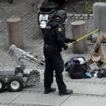 Police bombsquad in Oslo
