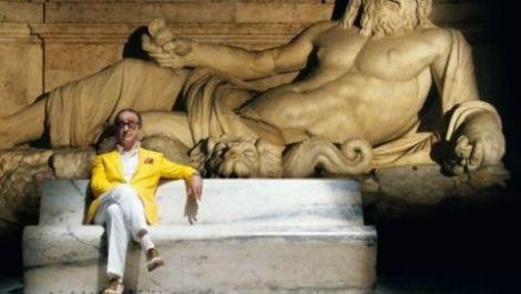"""Toni Servillo in una scena del film """"La grande bellezza"""""""