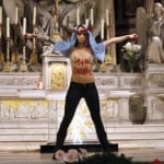 FRANCE-RELIGION-FEMEN-PROTEST-ABORTION