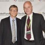 Bill Gates e il viceministro degli Esteri Lapo Pistelli