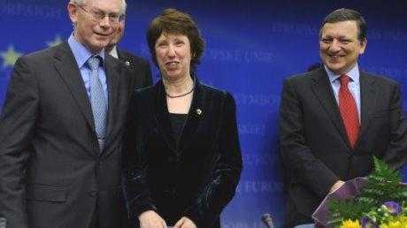 Barroso-Rompuy-Ashton