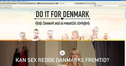 Fatelo per la Danimarca! Uno spot per stimolare viaggi e sesso