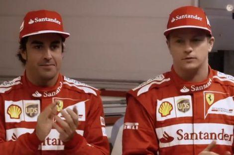 Fernando Alonso e Kimi Raikkonen