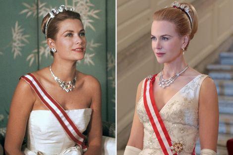 Grace Kelly e Nicole Kidman a confronto