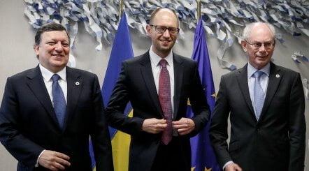 BELGIUM-EU-UKRAINE-RUSSIA-POLITICS-UNREST