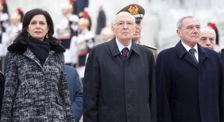 GIORNATA UNITA' NAZIONALE: NAPOLITANO AD ALTARE PATRIA