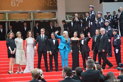 La Giuria sul red carpet del Festival di Cannes