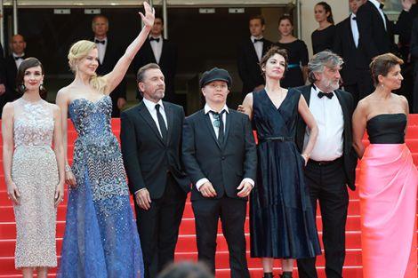La delegazione del film sul red carpet del Festival di Cannes