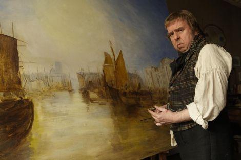Timothy Spall in una scena del film Mr. Turner