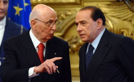 il sistema Berlusconi Napolitano