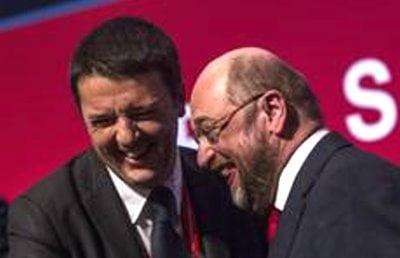 Schulz,Renzi piano coraggioso,ce la sta mettendo tutta