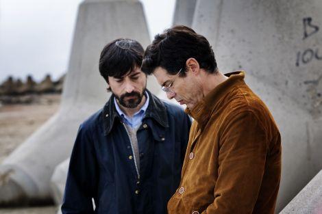 Luigi Lo Cascio ed Alessandro Gassmann in una scena del film I nostri ragazzi