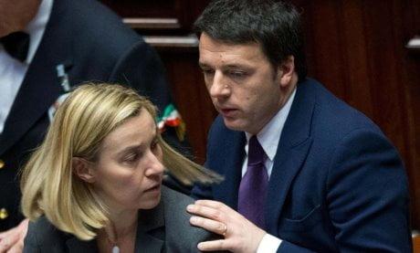 Renzi-e-Mogherini