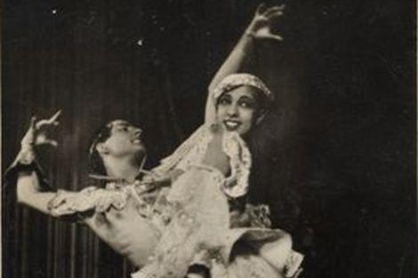 SPadò e Josephine Baker