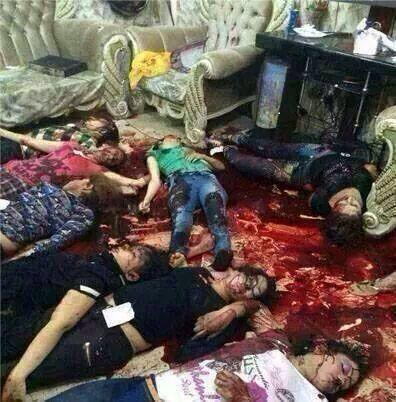 UCCISA INTERA FAMIGLIA CRISTIANA IN IRAQ  celebravano la laurea della loro figlia