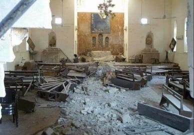 Mosul - chiesa dell'arcivescovado