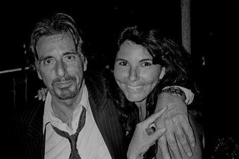 Angela Lo Priore con Al Pacino