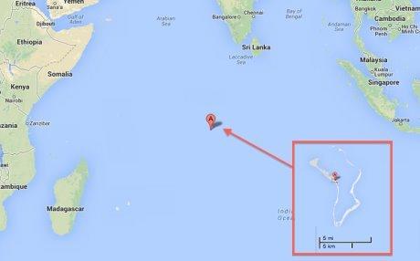 Base Usa nello sperduto atollo Diego Garcia