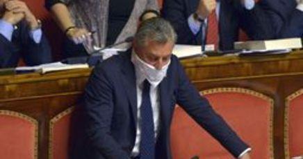 Bagarre m5s al senato espulso lucidi seduta sospesa for Leggi approvate oggi al senato