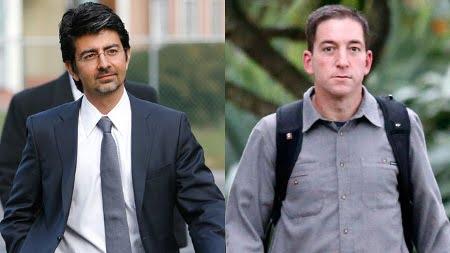 Pierre Omidyar e Glenn Greenwald