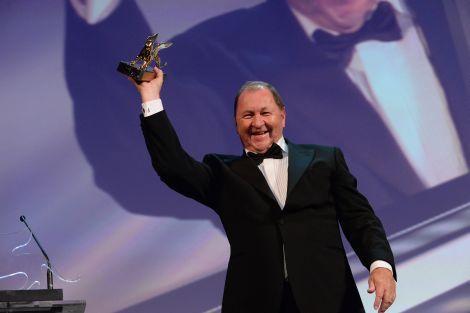 Roy Andersson con il Leone d'Oro