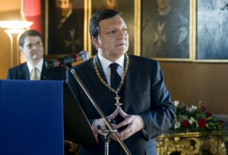 Ordine di Malta. Barroso e il ministro del tesoro USA, Jack Law