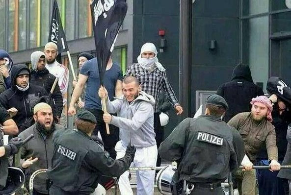 sostenitori dell'ISIS in Germania
