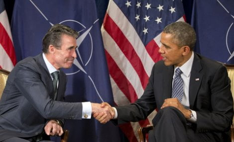 Barack Obama, Anders Fogh Rasmussen