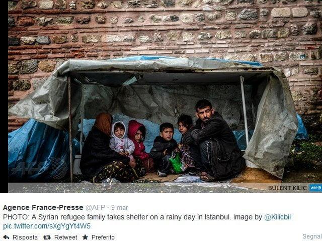 La condizione dei profughi siriani in Turchia