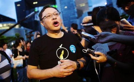 """Benny Tai, leader di """"Occupy Central's"""", ha passato anni beneficianodo del supporto e dei fondi del Dipartimento di Stato USA"""