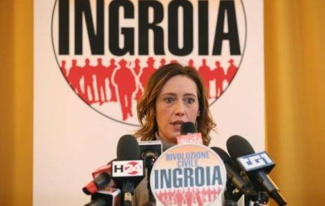 INGROIA, PD HA LA RESPONSABILITA' DEL DISASTRO MONTI