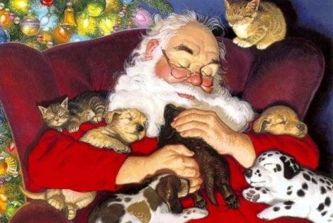 Immagini Contro Il Natale.Prete In Chiesa Si Scaglia Contro Babbo Natale Un Ciccione