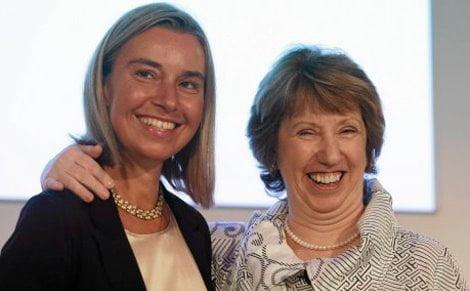 Mogherini-Ashton