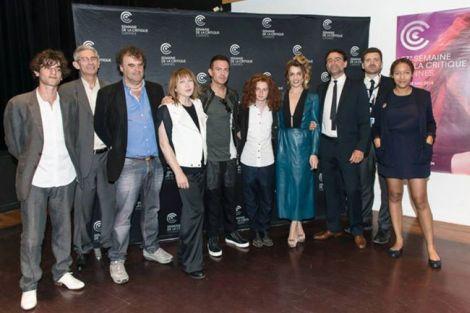 La delegazione del film alla Semaine de la critique