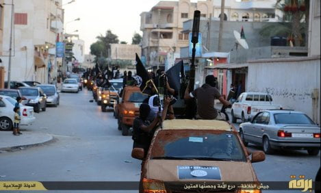 Isis arriva a Derna, Libia
