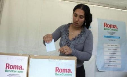 Roma. Primarie. Roma al voto