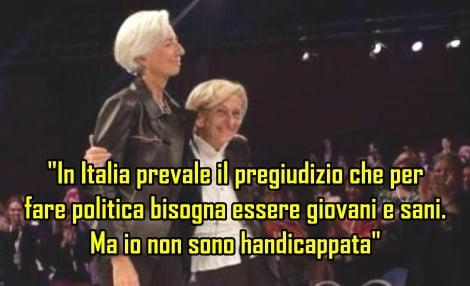 Bonino e Lagarde (FMI)
